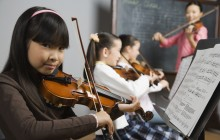 Find violin lessons for a ten-year-old girl